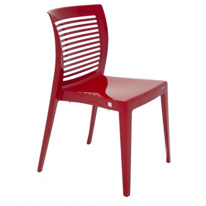 Cadeira Tramontina sem Braços Encosto Vazado Horizontal